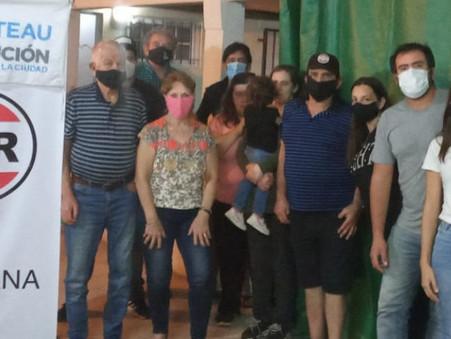 Alejandro Deppeler conmemoró el Día del Militante Radical escuchando a vecinos del Santa Lucía