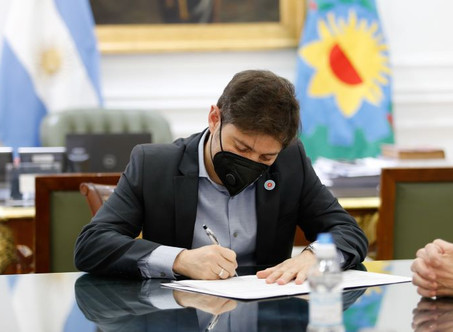 La provincia de Buenos Aires firmó convenios para el desarrollo territorial y habitacional