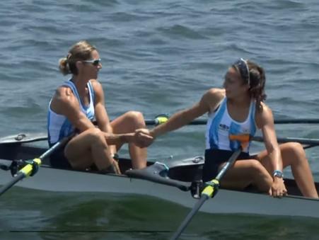 Eve Silvestro terminó su participación olímpica con una contundente victoria en la final ''C''