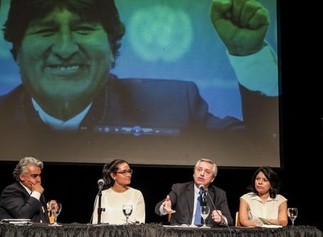 """""""No hay ningún ejército que haya liberado a un pueblo. Hubo un golpe de Estado en Bolivia"""""""
