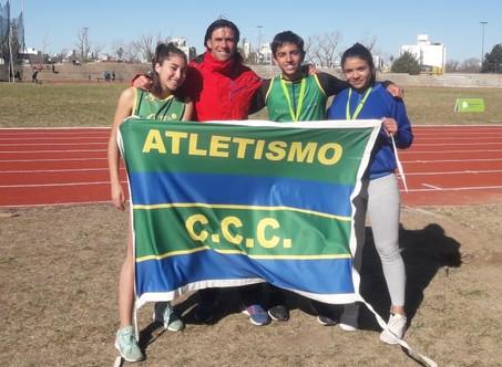 3 atletas del Ciudad participaron del Selectivo para los Juegos Nacionales Evita