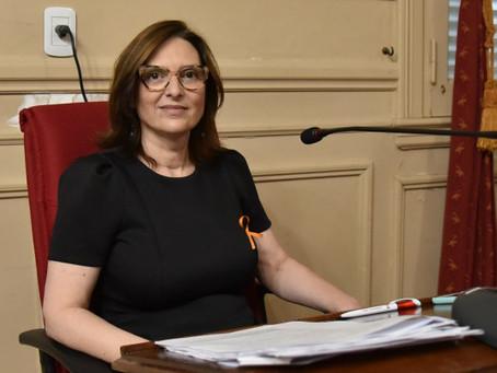 Karina Sala pidió a Vialidad Provincial la urgente reparación de la Ruta 6
