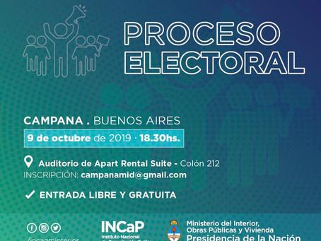 El INCaP brindará una capacitación sobre el proceso electoral