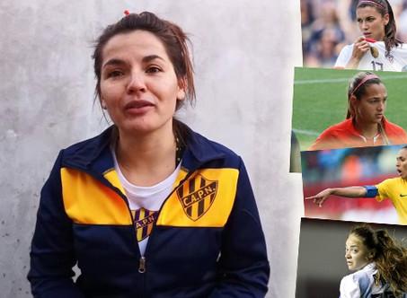 Karen Ramírez y su ''5 para la historia'' del fútbol femenino
