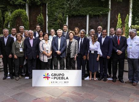 """Alberto Fernández en el Grupo de Puebla: """"Vivir en un continente más igualitario no es una utopía"""""""