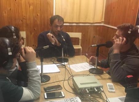 Alumnos de la Escuela Técnica Nº 1 entrevistaron al Intendente en la radio del 15