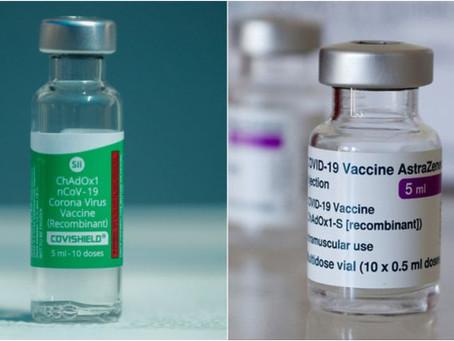 """""""AstraZeneca y Covishield son la misma vacuna"""""""