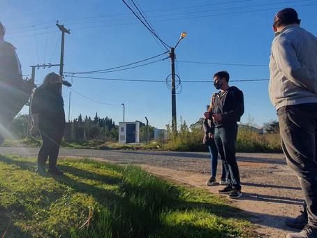 """Alejo Sarna: """"En Villanueva llevan casi 30 años esperando el agua"""""""