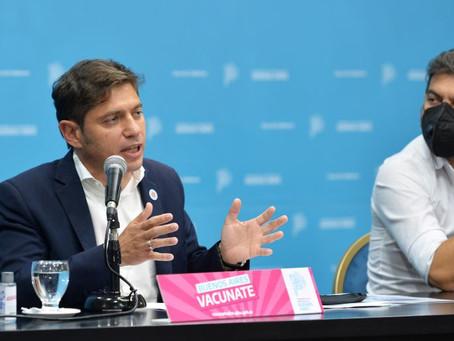 """Axel Kicillof: """"Es peligroso utilizar políticamente un momento de tanta ansiedad"""""""