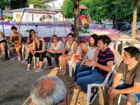 Alejo Sarna presentó su Plan Municipal de Seguridad Ciudadana