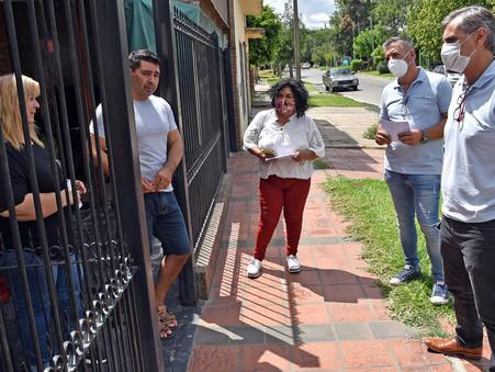 Concejales de Juntos por el Cambio anunciaron importantes obras en el barrio Sarmiento