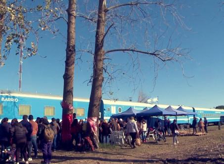 Luis Gómez y Carlos Cazador opinaron sobre la presencia del Tren Sanitario en Campana