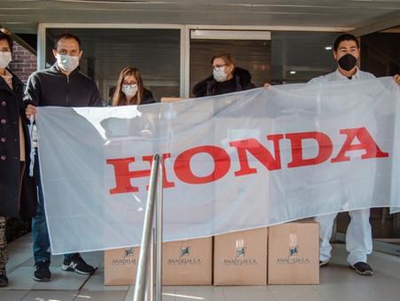 Honda Motor acompaña a quienes más lo necesitan