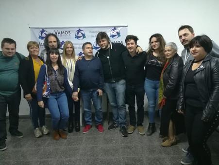 Video de la visita de Leandro Santoro a Campana