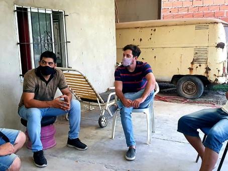Alejo Sarna pidió apoyo para microemprendedores
