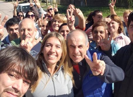 Mariu Giroldi y su agrupación recorrieron La Josefa