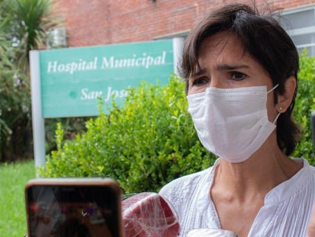 """Acciardi: """"El Hospital tuvo que vacunar docentes cuando no estaba previsto"""""""