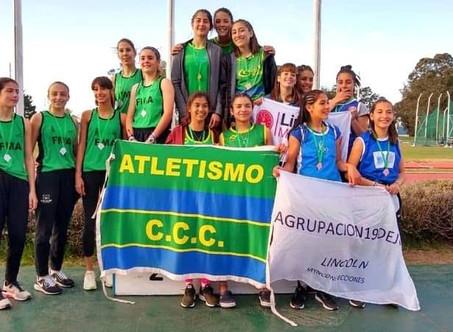 Atletismo: Un título y seis subcampeonatos para el C.C.C. en el Provincial U-16 de Mar del Plata