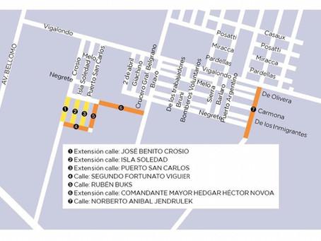 Avanza el programa de reordenamiento urbano impulsado por Buzzini y Schvartz