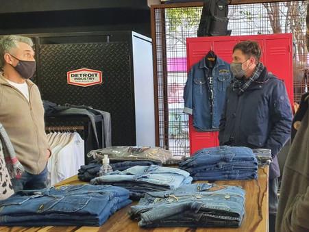 Alejo Sarna propuso beneficios para comerciantes de la ciudad