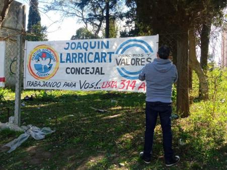 Larricart y Dimeo denunciaron haber sido amenazados en la calle por personal de Abella
