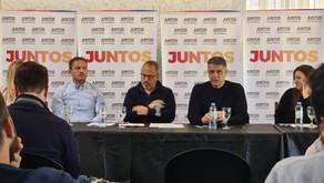 Abella se reunió con Valenzuela y candidatos de Juntos de la primera sección electoral