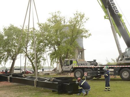 La Costanera incorporará un puente grúa