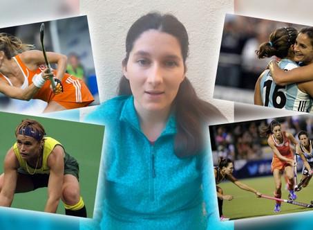 El hockey femenino llega a ''5 para la historia'' con Camila Tenembaum