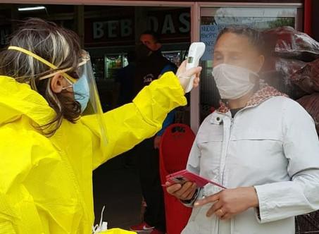 El Municipio realizó un importante operativo de rastrillaje sanitario en La Josefa