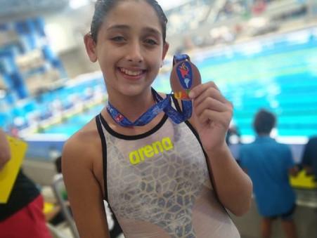 Agostina Hein logró 5 medallas en Perú