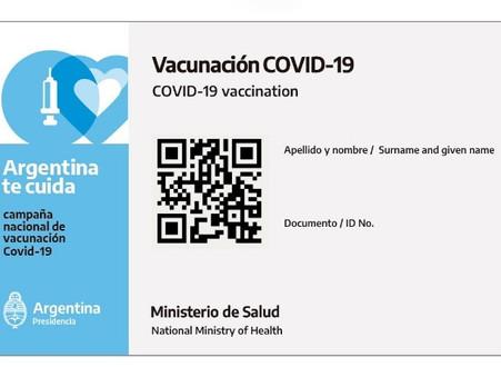 """""""La credencial digital será la acreditación internacional de la vacunación contra el Covid-19"""""""
