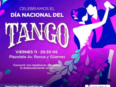 El Municipio celebra el Día Nacional del Tango con un espectáculo en Rocca y Güemes