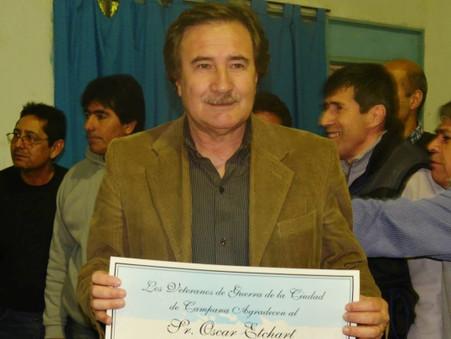 El Partido Justicialista despidió a Oscar Etchart