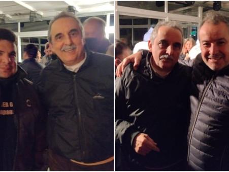 Larricart y Dimeo asistieron al plenario del partido Principios y Valores, y estuvieron con Moreno