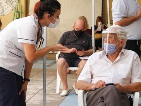 600 campanenses recibirán la vacuna en los próximos días