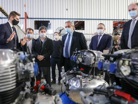 Alberto Fernández anunció una inversión de $700 millones y 100 nuevos puestos de trabajo