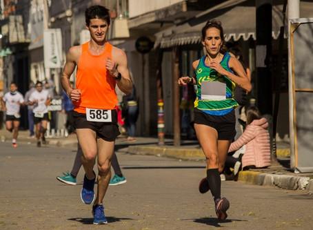 Runners del Club Ciudad corrieron la ''Maratón de los barrios'' en Baradero