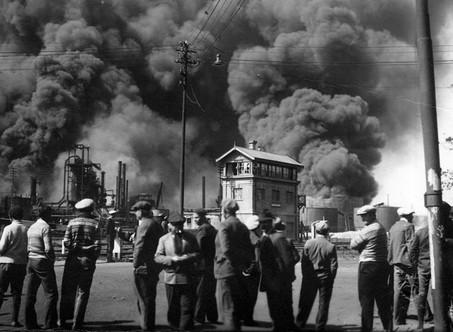 85 años del Incendio de la Refineria