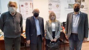 El Rector y la Vicerrectora de la Universidad Nacional de San Antonio de Areco visitaron la UTN FRD