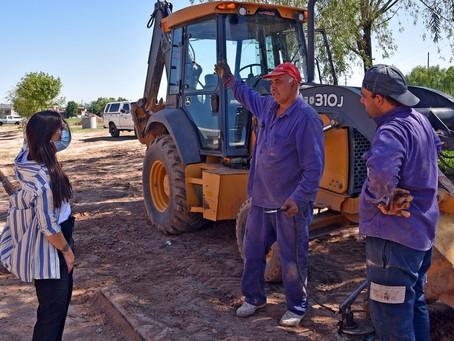 """""""A pesar de la pandemia, se avanza con obras que transforman la calidad de vida de los vecinos"""""""
