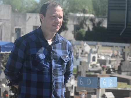 "Joel Vallomy habló sobre ""La Necrópolis Municipal"" en el programa ""Verte Bien"", de FM Simple"