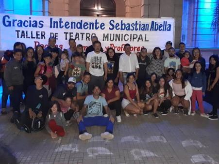 Los alumnos del Taller de Teatro Municipal viajaron a Mar del Plata