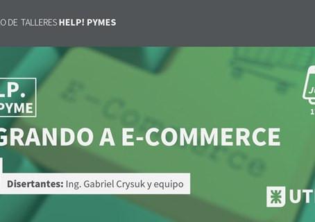"""Taller Gratuito virtual en la UTN: """"Migrando a E-Commerce"""""""