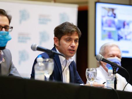 Kicillof anunció obras viales en 50 municipios, Campana incluida