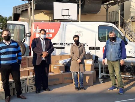 El hospital San José recibió una importante donación de insumos médicos