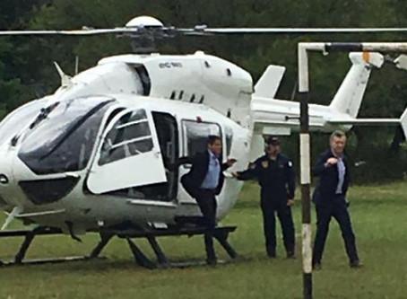 ''Sólo le tomó 10 minutos en helicóptero'' (por Brenda Reymundo)