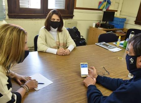 Con el eje en el servicio eléctrico, concejales oficialistas se reunieron con el gerente de EDEN