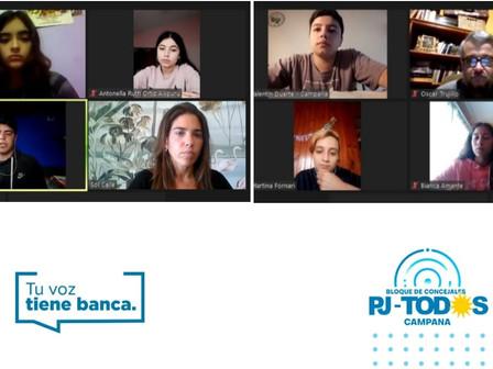 """""""Tu Voz Tiene Banca"""": Concejales escuchan la problemática de estudiantes secundarios"""