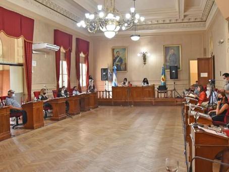 En la última sesión del año, el HCD aprobó el presupuesto 2021