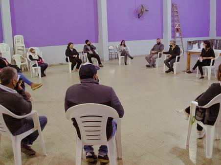 Elisa Abella presentó el Programa de Acompañamiento a organizaciones de la comunidad